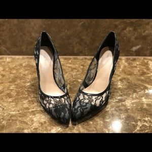Sole Society Lace Pumps Size 8